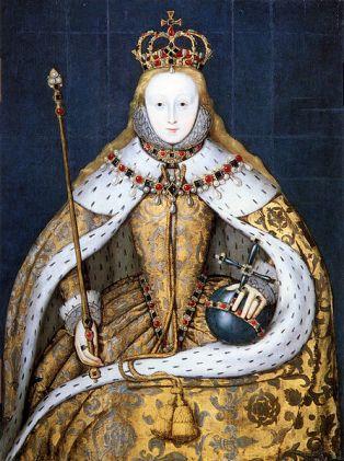 o Eliz 1 Coronation Portrait (NPG)