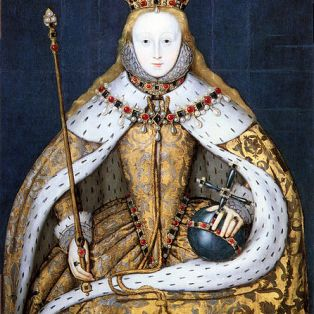 o Eliz 1 Coronation Portrait (NPG)
