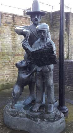 Mayflower statue