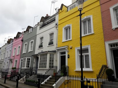 Colourful Chelsea street