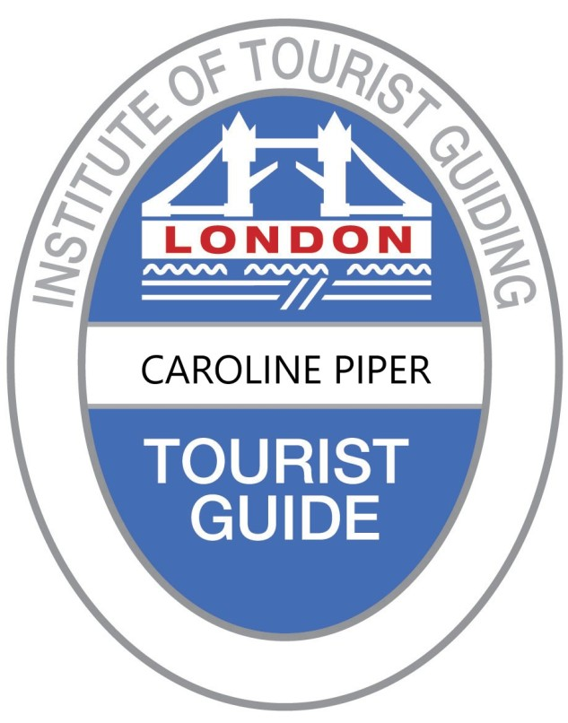 Blue Badge London logo from itg (with name)