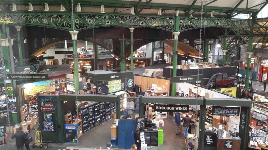 Borough Market inside 2
