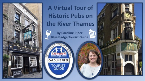 Historic Pubs on the River Thames advert